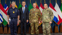 NATO Secretary General at the Commander'  s Conference at SHAPE