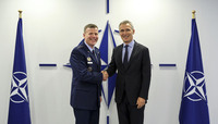 Supreme Allied Commander Europe visits NATO