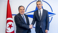 The Minister of Foreign Affairs of Tunisia visits NATO