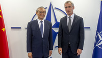Ambassador of China to the European Union visits NATO