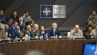 Meeting of the NATO Military Committee in Chiefs of Staff Session - Session with NATO Secretary General Jens Stoltenberg