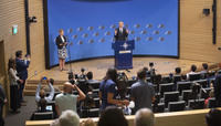 Meetings of NATO Defence Ministers - Pre-ministerial press conference by the NATO Secretary General