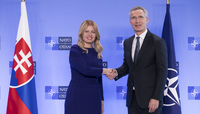 The President of the Slovak Republic visits NATO