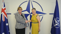 The Minister of Defence of Australia visits NATO