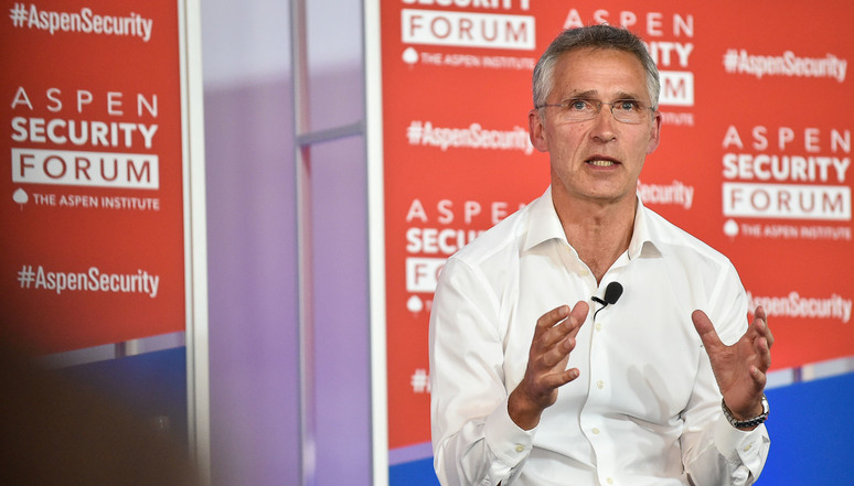 NATO Secretary General Jens Stoltenberg at the Aspen Security Forum