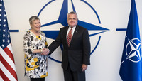 US Deputy Secretary of State visits NATO