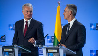 Lithuanian President visits NATO