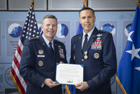 Deputy Chairman of the NATO Military Committee retires from the US Air Force in unique ceremony at NATO Headquarters