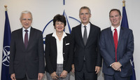 NATO Secretary General meets with Energy Experts