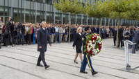 Remembrance Ceremony at NATO Headquarters for the 9/11 terrorist attacks on the United States