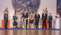 Military Committee Conference in Ljubljana, Slovenia - Official welcome ceremony
