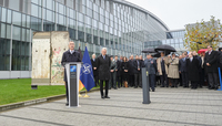 NATO marks the 30th anniversary of the fall of the Berlin Wall