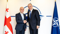 Visit to NATO by the Minister of Foreign Affairs of Georgia