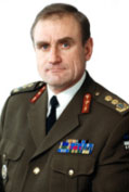 Lieutenant General Ants Laaneots, Chief of Defence of Estonia
