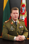 Lieutenant General Valdas Tutkus, Chief of Defence of the Lithuanian Armed Forces