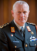 General Peter van Uhm, Chief of the Netherlands Defence Staff