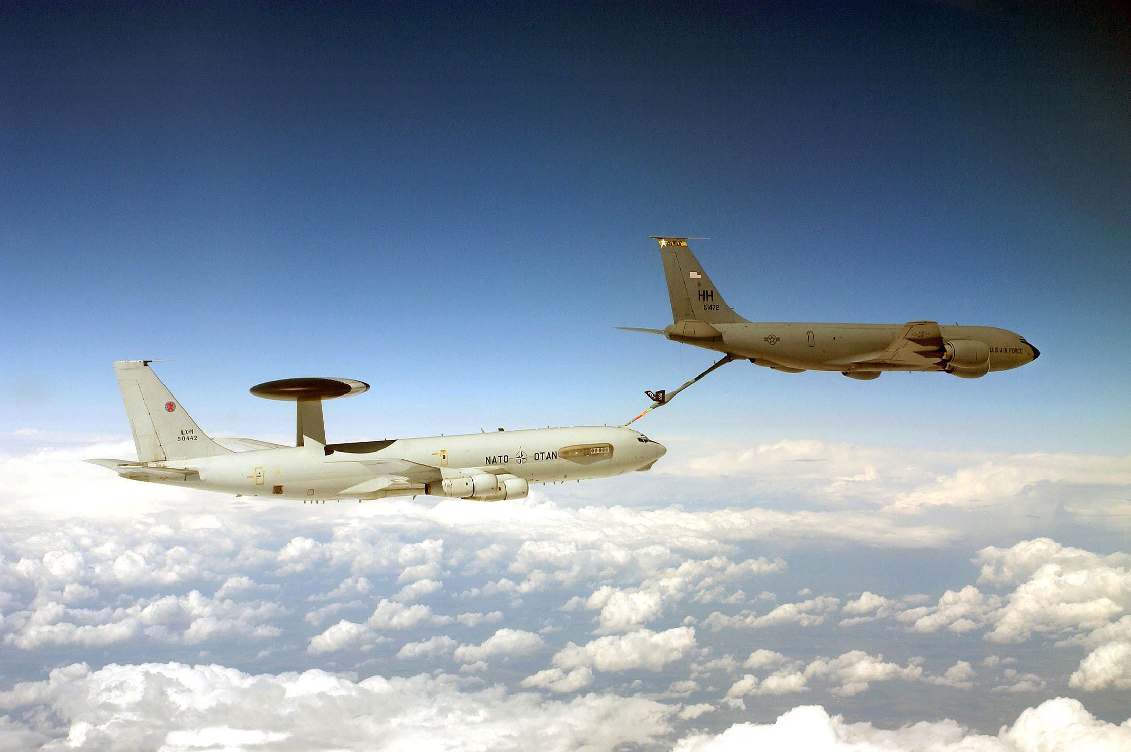 Nato Declassified Awacs In Action