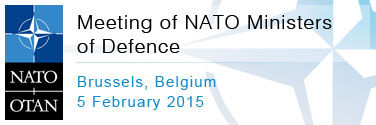 Programme of the NATO Defence Ministers Meetings, 5 Feb 2015