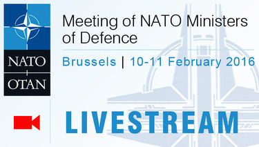 Live stream from NATO  Foreign Affairs Ministers' meeting -  Brussels
