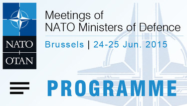NATO Defence Ministers meeting - Programme