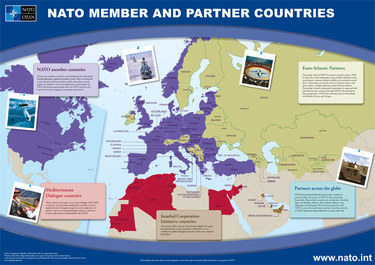 NATO Topic Member Countries - Current us allies map
