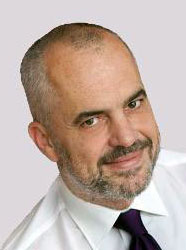 Edi Rama, Minister of Foreign Affairs of the Republic of Albania