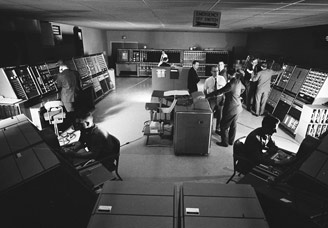 NORAD base control room