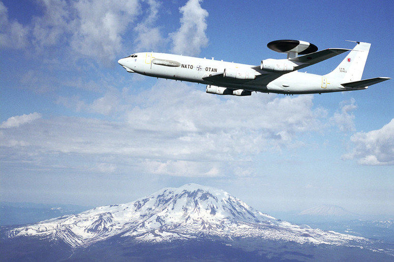AWACS in action