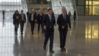 Deputy Prime Minister of European and Euro-Atlantic Integration of Ukraine visits NATO