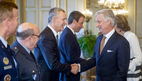 NATO Secretary General attends the New Year Reception at the Belgian Royal Palace