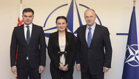 First Deputy Minister of Foreign Affairs and the State Minister for Reconciliation of Georgia visit NATO