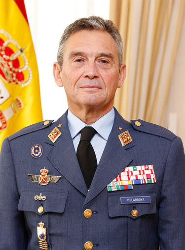 Miguel Angel Villarroya, Chief of the Defence Staff of Spain