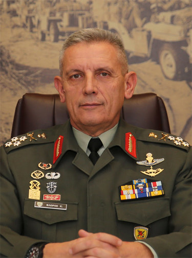 Konstantinos, Chief of the Hellenic National Defence General Staff (HNDS)