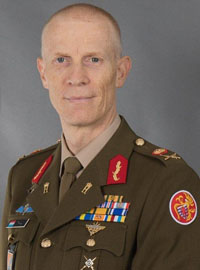 General Steve Thull, Chief of Defence of Luxembourg
