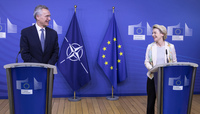 NATO Secretary General visits the European Commission