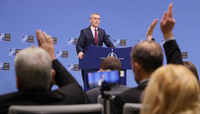 Pre-ministerial press conference - Meeting of NATO Defence Ministers, Brussels