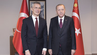NATO Secretary General meets with the President of Turkey