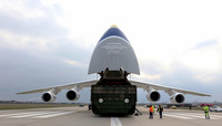 Allied plane with medical supplies to fight coronavirus crisis arrives in Slovakia