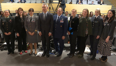 Secretary General welcomes gender advisors to NATO Headquarters