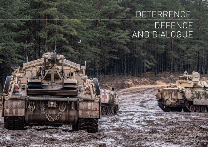 Deterrence, Defence & Dialogue