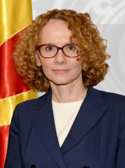 Radmila Shekerinska, Minister of Defence of North Macedonia
