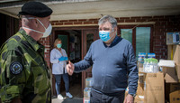 KFOR providing assistance to local communities in Kosovo to help fight he COVID-19 pandemic