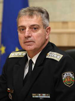 Admiral Emil Eftimov, Chief of Defence of Bulgaria