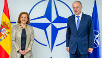 Spanish Secretary of State for Foreign Affairs visits NATO