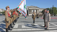Chairman of the NATO Military Committee visits Hungary