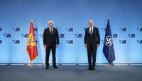 The Prime Minister of Montenegro visits NATO