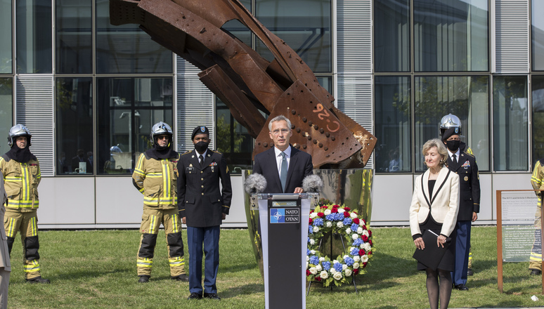 Ceremony to commemorate the 19th anniversary of the 2001 terrorist attacks on the United States. Remarks by NATO Secretary General Jens Stoltenberg