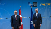 The Minister of Foreign Affairs of the Republic of Turkey visits NATO