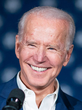 Joe Biden, President of the United States of America