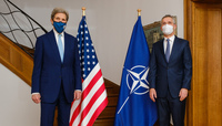 NATO Secretary General meets United States Special Presidential Envoy for Climate